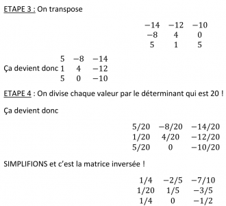 [Aide Math]Inverser une matrice carré