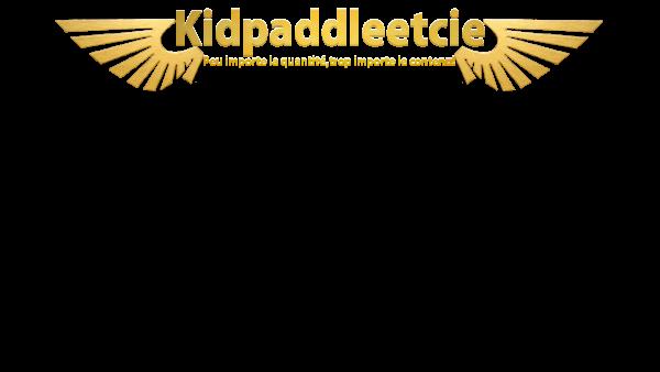 Un logo pour Kidpaddleetcie