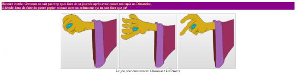 Pierre-Papier-Ciseaux avec Gwonam