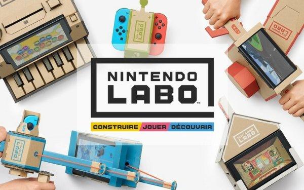"""Le """"Nintendo Labo""""!"""