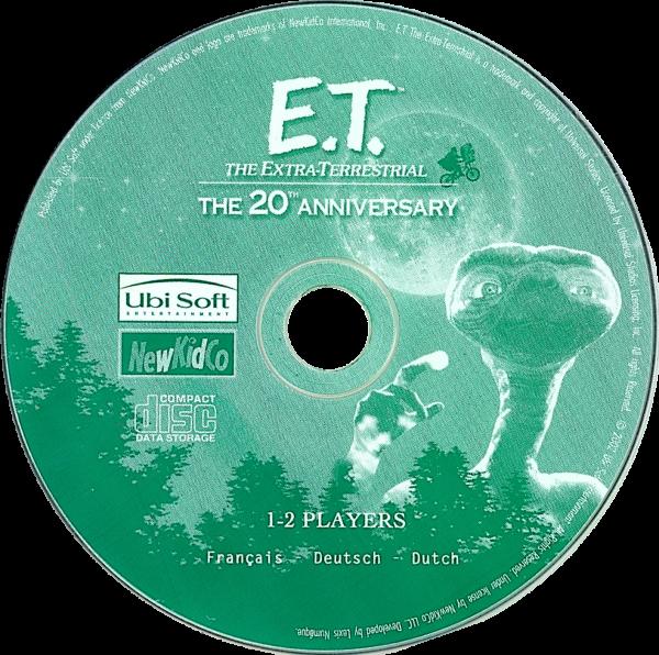 [Jeu-vidéo]E.T.™ L'Extra-Terrestre-L'aventure pour les petits(PC 2002)