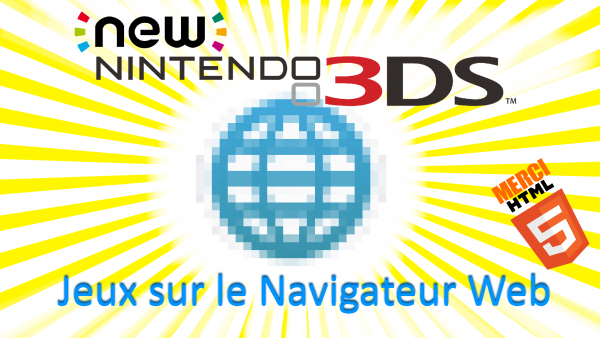 Les sites à consulter avec sa NewNintendo3DS!