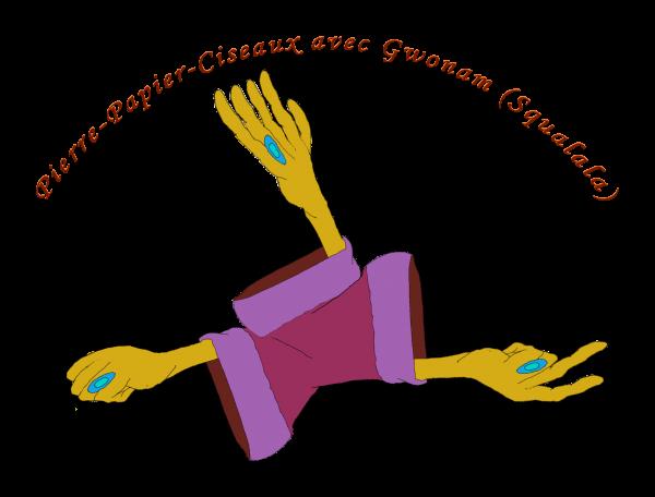 """Le """"Pierre-Papier-Ciseaux"""" avec Gwonam!"""