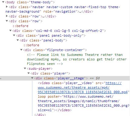 [How?]Download a Flipnote on sudomemo.net !