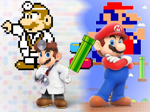 Docteur Mario n'est pas Mario !
