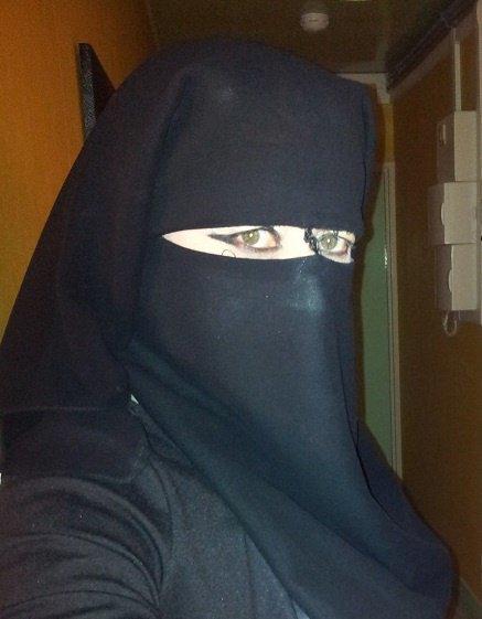 regard de musulmane