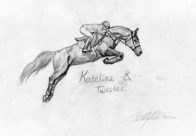 O Kateline et Twister O o °