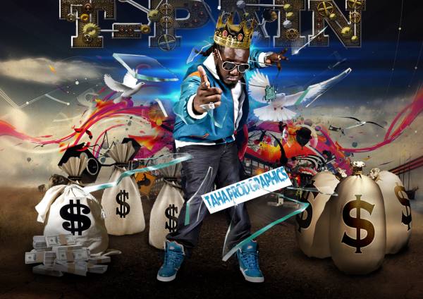 "My Graphics [ 2012 ] "" T-pain """