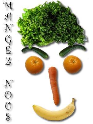Mangez au moins 5 fruits et légumes par jour