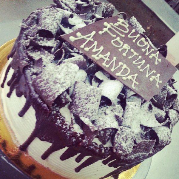 italian rum cake. mmm