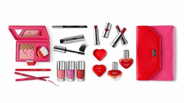 KiKO la gamme rose et rouge