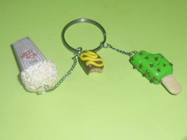 Porte clés gourmand