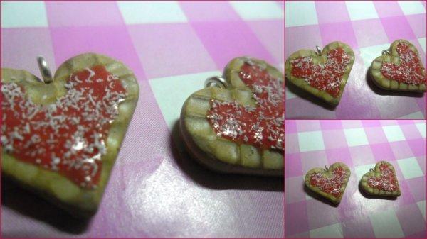Mes gaufres à la fraise ! :)