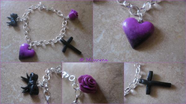 Bracelet gothique :$