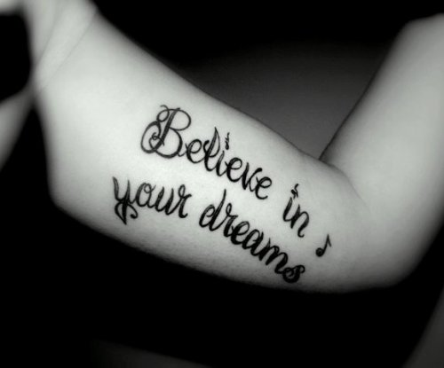 ♥ Believe In Your Dreams