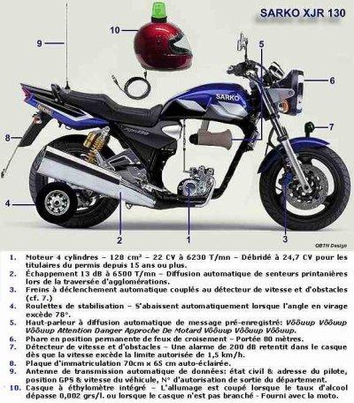 Nouvelle moto Francaise