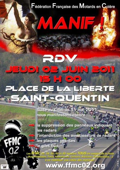 Manif a Saint Quentin 02100