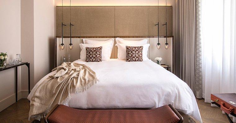 Les belles chambres d'un hôtel de luxe