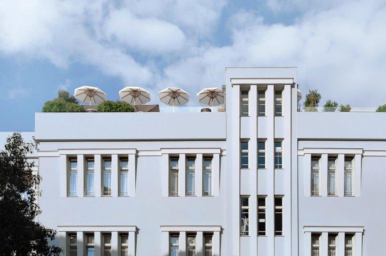 Superbe hôtel boutique à Tel Aviv
