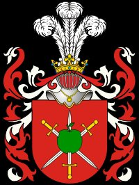 Rodzina po kądzieli, Woronicz - herbu Pawęża, próba rekonstrukcji (Вороничи)