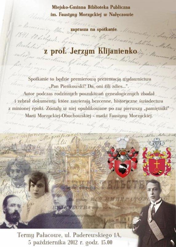 Pan Pienkowski - genealogia i historia