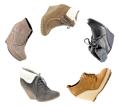 détail_______This winter won't happen without a pair of wedges !