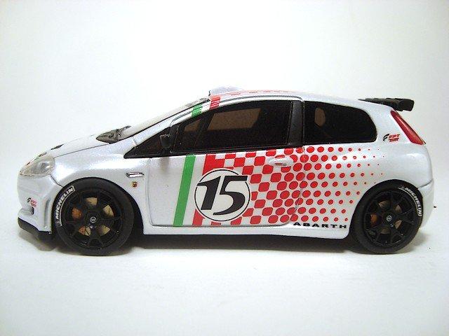 1/43 fiat grande punto rally S2000 showcar