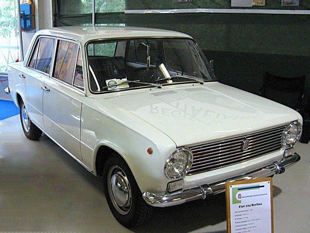 1/43  fiat 124  berlina 1966