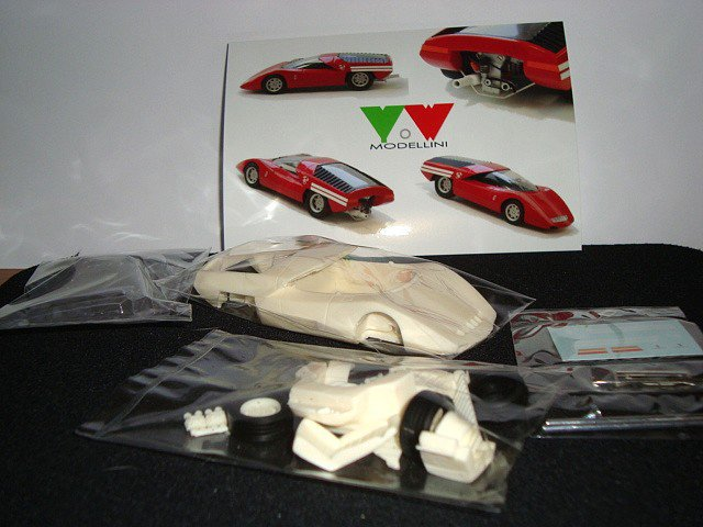 1/43  abarth 2000 coupé 1969