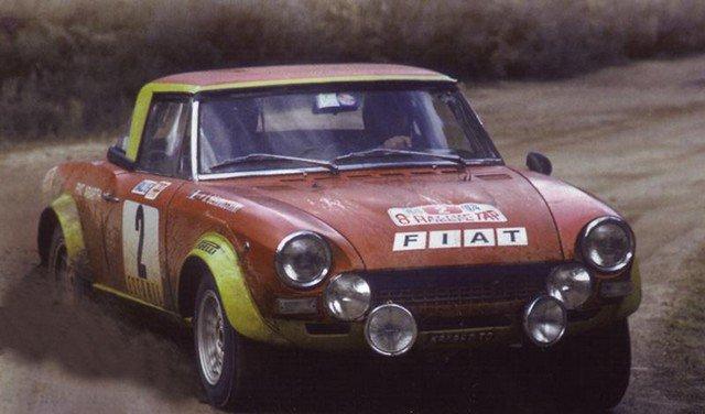 1/43 fiat 124  abarth rally du portugal 1974