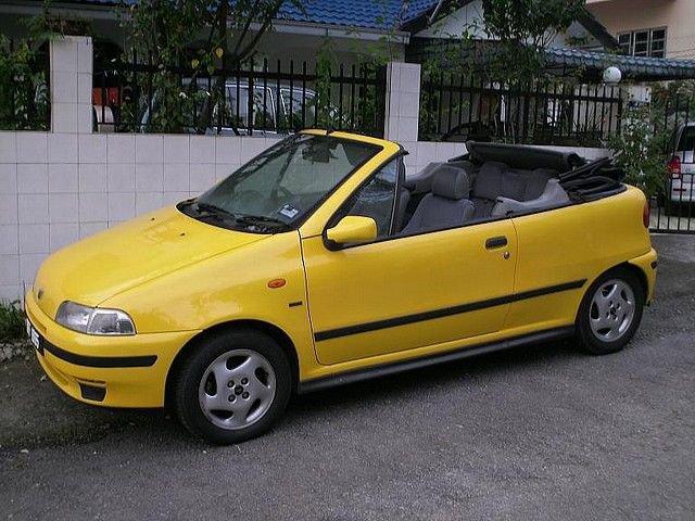1 43 fiat punto cabrio 1996 diecast model cars. Black Bedroom Furniture Sets. Home Design Ideas