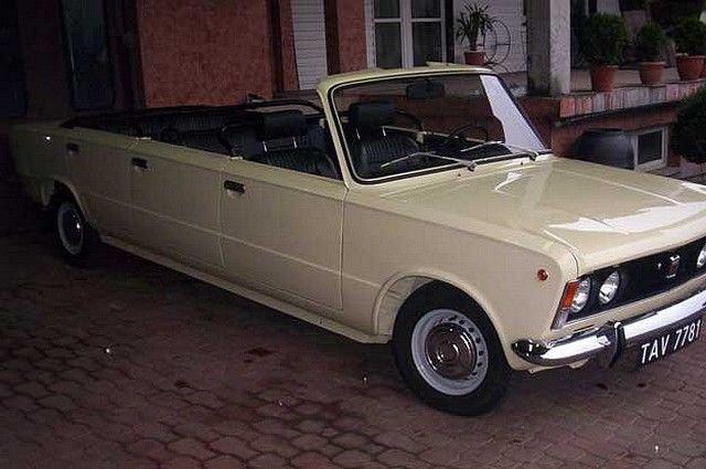 1/43 125P jamnik limousine cabrio