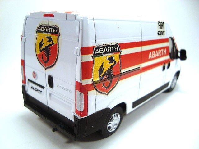 1/43 fiat ducato assistance abarth