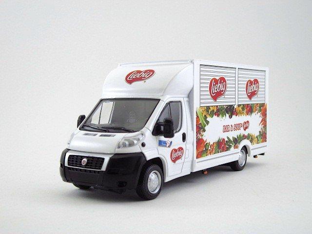 1/43 ducato  food truck liebig