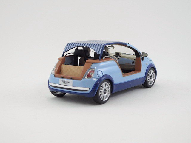 "1/43 fiat 500 tender two  ""castagna milano"" 2008"