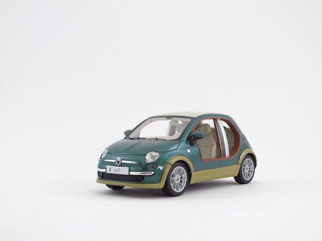 1/43  fiat 500 castagna EV  kadhafi 2009