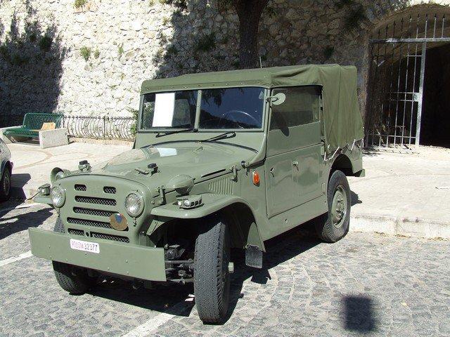 1/25 fiat campagnola  army