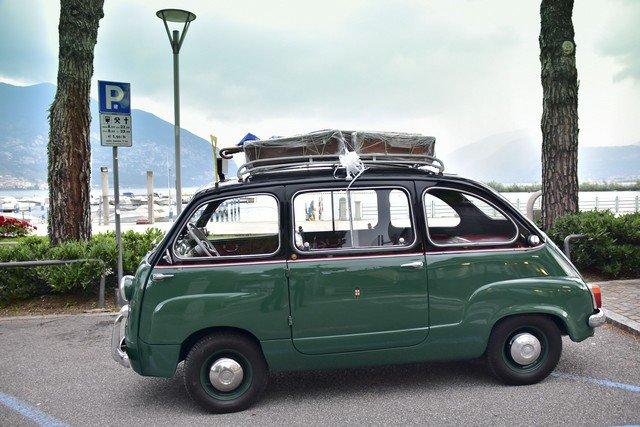 1/43  fiat multiplat  taxi  milano 1958