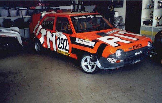 1/24 fiat ritmo abarth rally N 292 giro d'italia