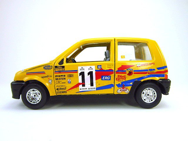 1/24  fiat ciquencento rally 1994
