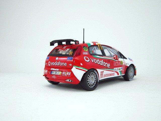 1/43  fiat grande punto S2000 rallye du portugal 2008