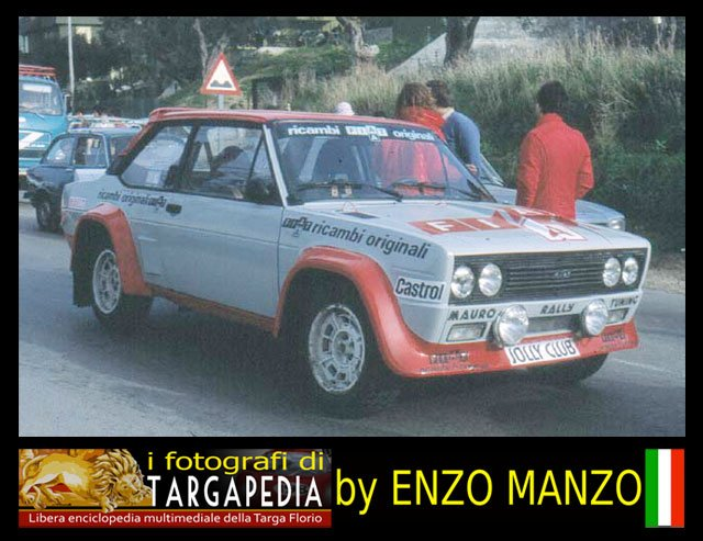 1/24 fiat 131 abarth (scuderia jolly club)