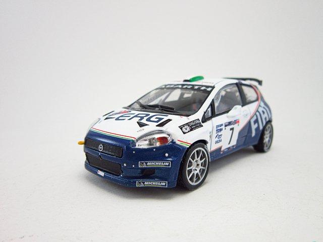 1/43  fiat grande punto S2000 Rally 1000 Miglia 2006