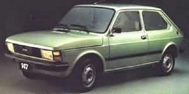 1/43  fiat 147 CL5 1983   ( argentine )