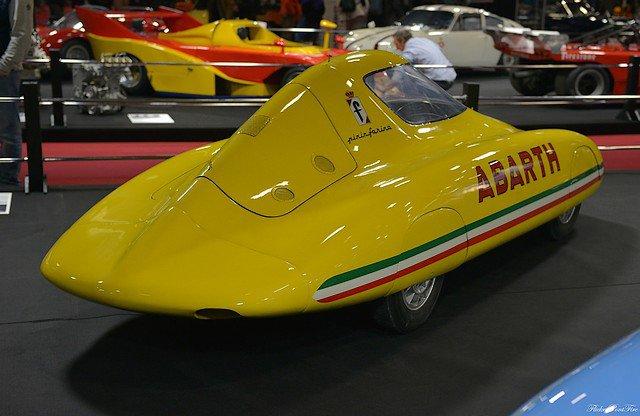 1/43  abarth 500 record 1958