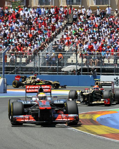 Grand prix d'Europe 2012