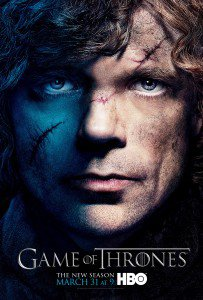 """Test - Poster type """"Game of thrones"""""""