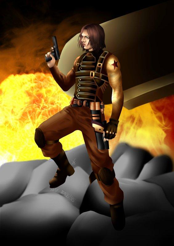 Le soldat de l'hiver - Je n'y connais rien en Steampunk !