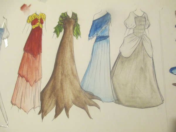 costumes de la semaine