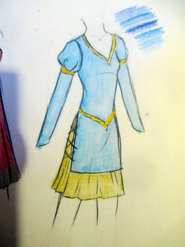costumes de la semaine - papier